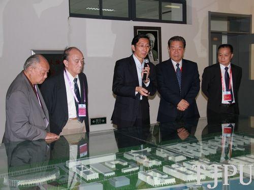 天津工业大学校领导会见中国未来研究会专家一行 -中国科技文化产业网